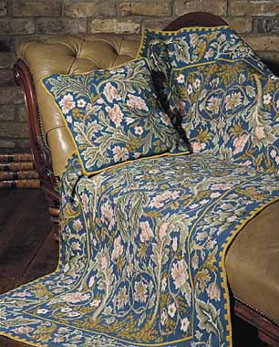Beth Russell's William Morris 'Acanthus' Tapestry Kits