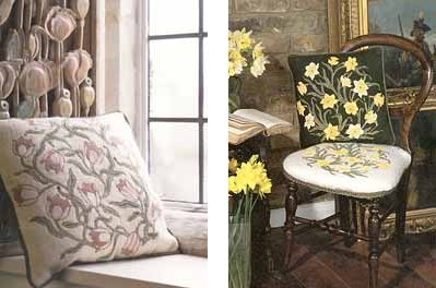 Beth Russell's Arts and Crafts Flowers Tapestry Kits