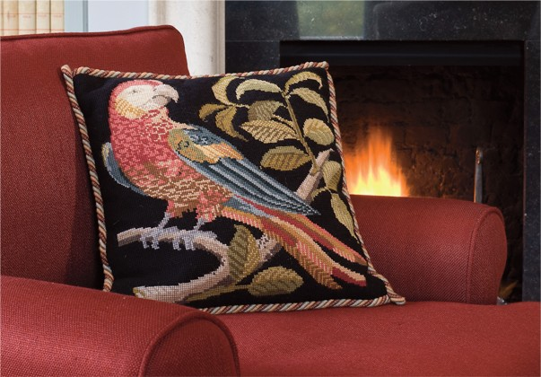 Elizabeth Bradley: The Parrot Tapestry Kit