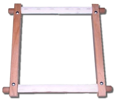 Rotating tapestry frame
