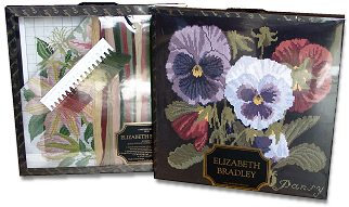 Elizabeth Bradley tapestry kits come boxed and make great gifts!