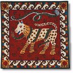 Celtic Dog and Snakes tapestry kit