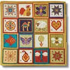 Little Patchwork tapestry kit