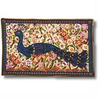 Peacock tapestry wallhanging