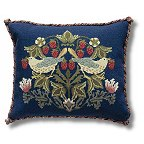 Beth Russell's William Morris Strawberry Thief Tapestry Kits