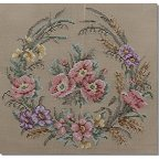 Beverley Tramé Tapestry: Floral Crescents