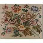 Beverley Tramé Tapestry: Poppies & Carnations