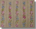 Beverley Tramé Tapestry:  Floral Ribbon