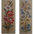 Beverley Tramé Tapestry: Floral Cushion Panels