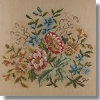 Beverley Tramé Tapestry: Floral Chairseat Set