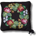 Beverley Tramé Tapestry: Floral Garland Designs