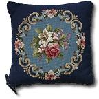 Beverley Tramé Tapestry: Floral Spray Designs with Borders