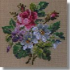 Beverley Tramé Tapestry:  Miniature Floral Designs