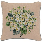 Beverley Tramé Tapestry: Pink & Yellow Posies