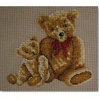 Beverley Tramé Tapestry: Teddies Together