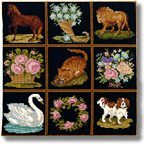 Elizabeth Bradley Decorative Victorian Tapestry Kits
