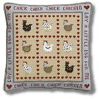 The Historical Sampler Company - 'Chick Chick Chickens' Tapestry Kit