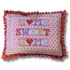 The Historical Sampler Company - 'Home Sweet Home' and 'Love Heart' Tapestry Kit