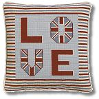 The Historical Sampler Company - 'Love Cushion' Tapestry Kit
