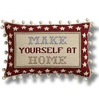 The Historical Sampler Company - 'Make Yourself at Home' Tapestry Kit