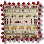 The Historical Sampler Company - 'Soldier, Soldier' Tapestry Kit