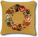 Ivo floral wreath tapestry kits