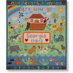 Jolly Red 'Noah's Ark Sampler' Tapestry Kit