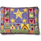 Jolly Red  'Starry Night' Tapestry Kit