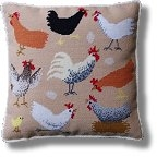 Kirk and Hamilton Tapestry Kits - Chickens