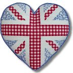 Kirk and Hamilton Tapestry Kits - Floral Union Jack Heart