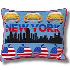 Kirk and Hamilton Tapestry Kits - Big City Tapestry Samplers