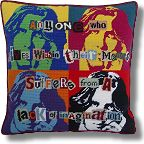 Kirk and Hamilton Tapestry Kits - Pop Art Oscar Wilde
