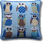 Kirk and Hamilton Tapestry Kits - Retro Owls