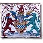 Medieval Heraldic Coat of Arms tapestry kit
