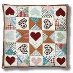 New England Needle Collection - Patchwork Heart Quilt Tapestry Kit