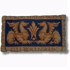 William de Morgan 'Sand's End Griffins' tapestry kit