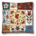 New England Needle Collection - Shaker Patchwork Flowers Tapestry Kit