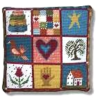 New England Needle Collection - Shaker Patchwork Tapestry Kit