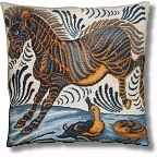 William de Morgan 'Zebra and Ducks' tapestry kit