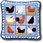 Hens tapestry kits