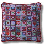 One Off Tapestry Mosaic Hearts Kit