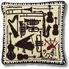 Musical Instruments Tapestry Kit