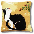 Oriental Cat Tapestry Kit