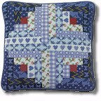 Log Cabin Patchwork tapestry kit