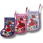 One Off Tapestry 'Starry Stocking' Xmas Stocking Kits