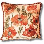 Indian Poppies tapestry kit