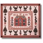 'Little Red House' tapestry kit