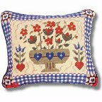 Shaker Flowers tapestry kit