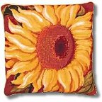 Single Sunflower tapestry kit