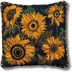 'Blue Sunflower Dance' tapestry kit